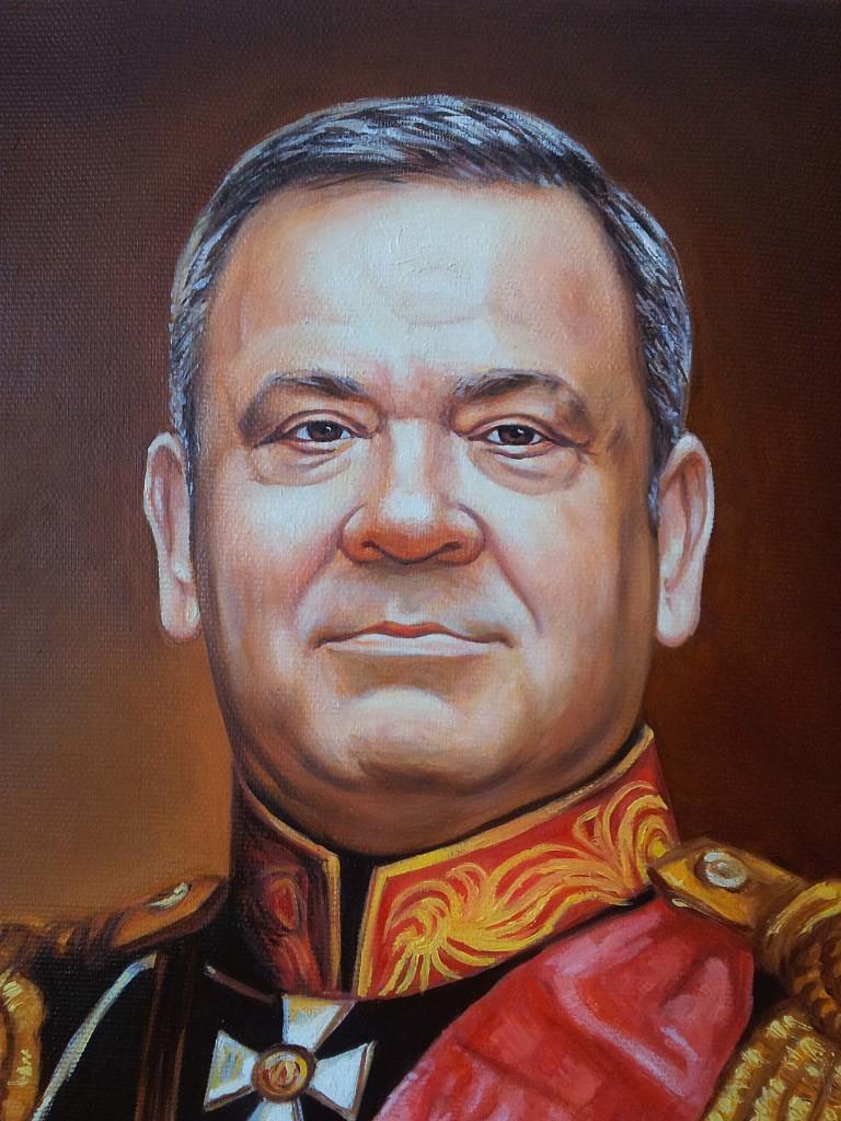 Портрет маслом на холсте в Твери