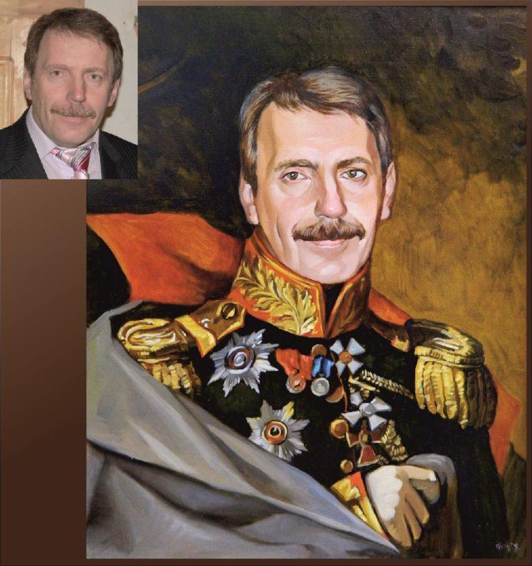 Настоящий портрет маслом на заказ в Твери…