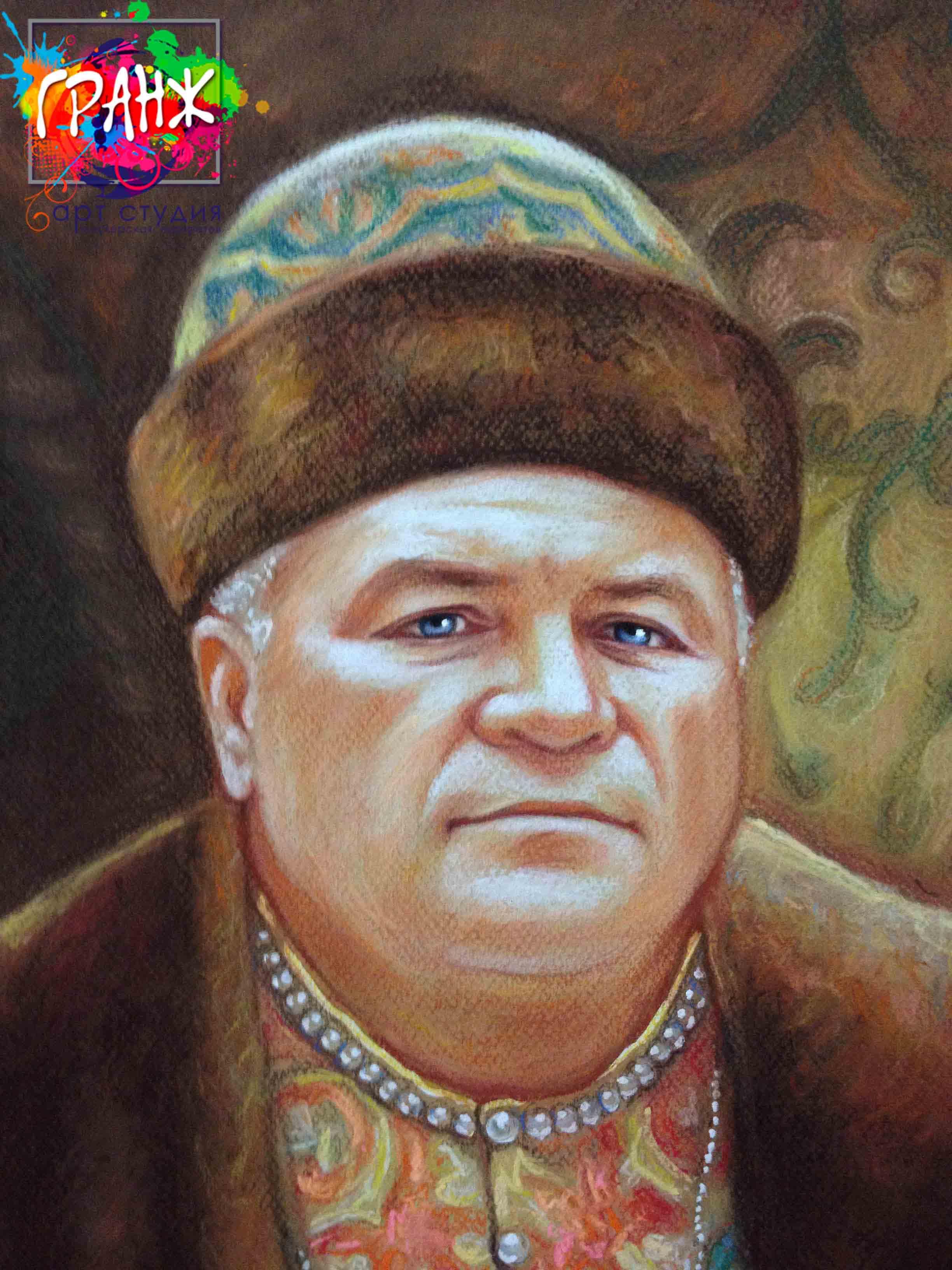 Заказать портрет маслом по фотографии в Твери